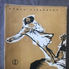 Coleccionismo de Revista Temas Españoles: REVISTA TEMAS ESPAÑOLES - AÑO 1956 NÚMERO 249 - LEONARDO ALENZA. Lote 209750513