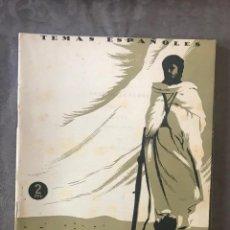 Collectionnisme de Magazine Temas Españoles: REVISTA TEMAS ESPAÑOLES - AÑO 1954 NÚMERO 139 - IFNI. Lote 209750818