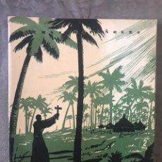 Coleccionismo de Revista Temas Españoles: REVISTA TEMAS ESPAÑOLES - AÑO 1953 NÚMERO 42 - FRAY JUNIPERO SERRA. Lote 209750927