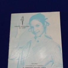 Coleccionismo de Revista Temas Españoles: OLIMPIADA INTERNACIONAL DEL HUMOR FALLAS DE VALENCIA 1970-FERNANDO VIZCAINO CASAS (DISCURSO). Lote 212528993