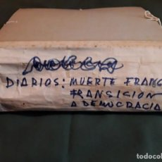 Coleccionismo de Revista Temas Españoles: LOTE PERIÓDICOS Y REVISTAS MUERTE DE FRANCO Y TRANSICIÓN A LA DEMOCRACIA. Lote 212554723