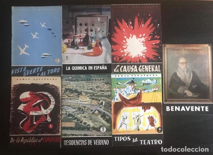 LIBROS TEMAS ESPAÑOLES (Papel - Revistas y Periódicos Modernos (a partir de 1.940) - Revista Temas Españoles)