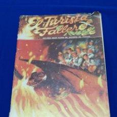Coleccionismo de Revista Temas Españoles: EL TURISTA FALLERO 1983 -PUBLICIDAD BARRACA BAR - DISTRITO 10 - MEXICO LINDO TODAS DE VALENCIA. Lote 214333500