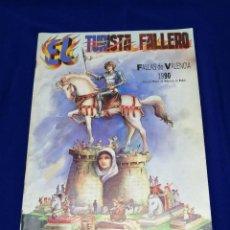 Coleccionismo de Revista Temas Españoles: EL TURISTA FALLERO 1990. Lote 214335155