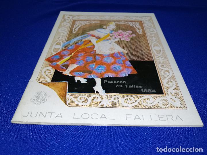 Coleccionismo de Revista Temas Españoles: LLIBRET JUNTA LOCAL FALLERA PATERNA 1984 - Foto 2 - 214355633