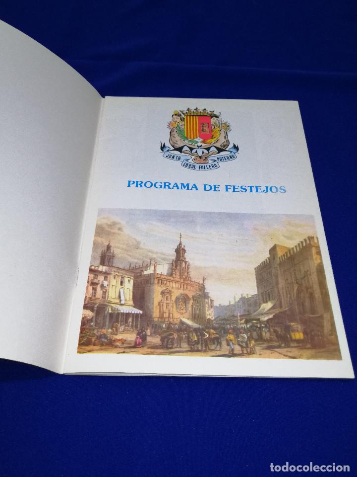 Coleccionismo de Revista Temas Españoles: LLIBRET JUNTA LOCAL FALLERA PATERNA 1984 - Foto 3 - 214355633