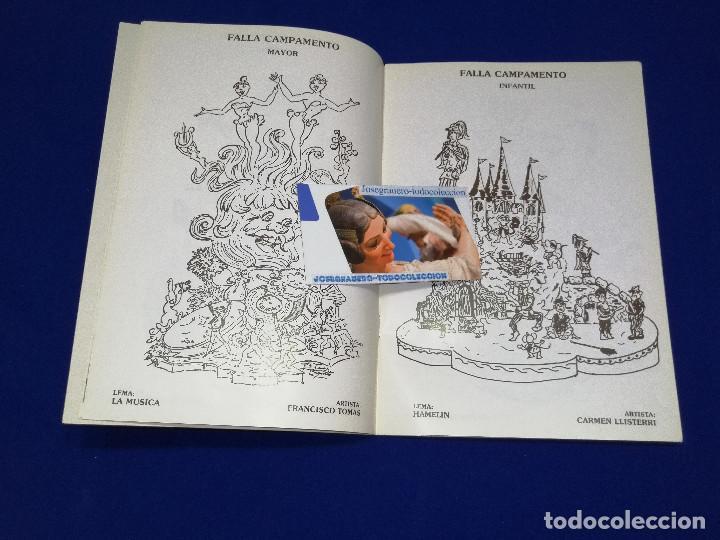Coleccionismo de Revista Temas Españoles: LLIBRET JUNTA LOCAL FALLERA PATERNA 1984 - Foto 6 - 214355633