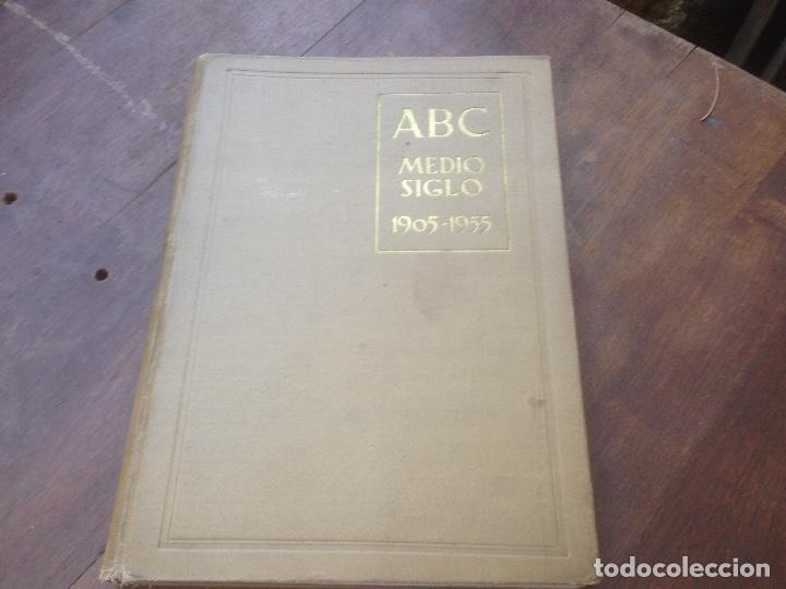 MEDIO SIGLO 1905 1955 ABC. (Papel - Revistas y Periódicos Modernos (a partir de 1.940) - Revista Temas Españoles)