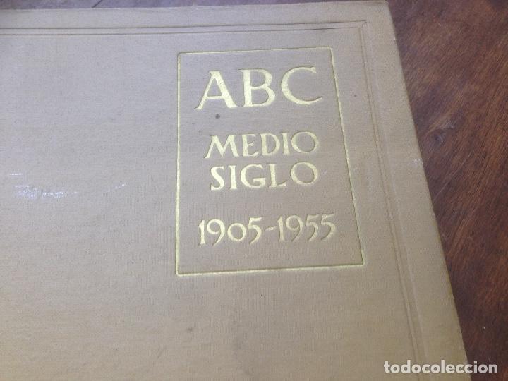 Coleccionismo de Revista Temas Españoles: Medio siglo 1905 1955 ABC. - Foto 2 - 219195510