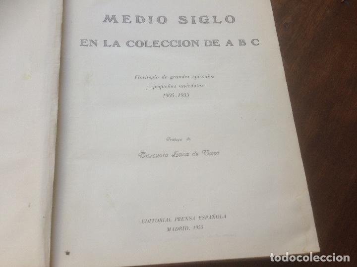 Coleccionismo de Revista Temas Españoles: Medio siglo 1905 1955 ABC. - Foto 3 - 219195510