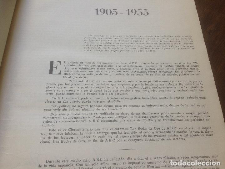 Coleccionismo de Revista Temas Españoles: Medio siglo 1905 1955 ABC. - Foto 4 - 219195510