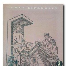 Coleccionismo de Revista Temas Españoles: TEMAS ESPAÑOLES Nº 101: UNIVERSIDADES GLORIOSAS. VIGO, JORGE DE. Lote 220766580