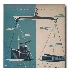 Coleccionismo de Revista Temas Españoles: TEMAS ESPAÑOLES Nº 188: CONSULADO DEL MAR. MANFREDI CANO, DOMINGO. Lote 220767380