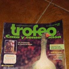 Coleccionismo de Revista Temas Españoles: REVISTA TROFEO, CAZA Y CONSERVACIÓN, NÚMERO 394,MARZO 2003. Lote 222367977