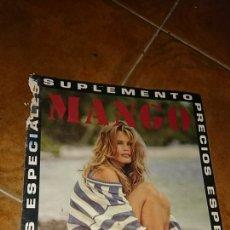 Coleccionismo de Revista Temas Españoles: REVISTA, SUPLEMENTO MANGO, VERANO 1992. Lote 222378103