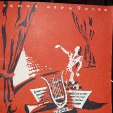 Coleccionismo de Revista Temas Españoles: FALLA, GRANADOS Y ALBENIZ. AUTOR: JUALIA MARTINEZ. PUBLICADO EN 1952.. Lote 227186780