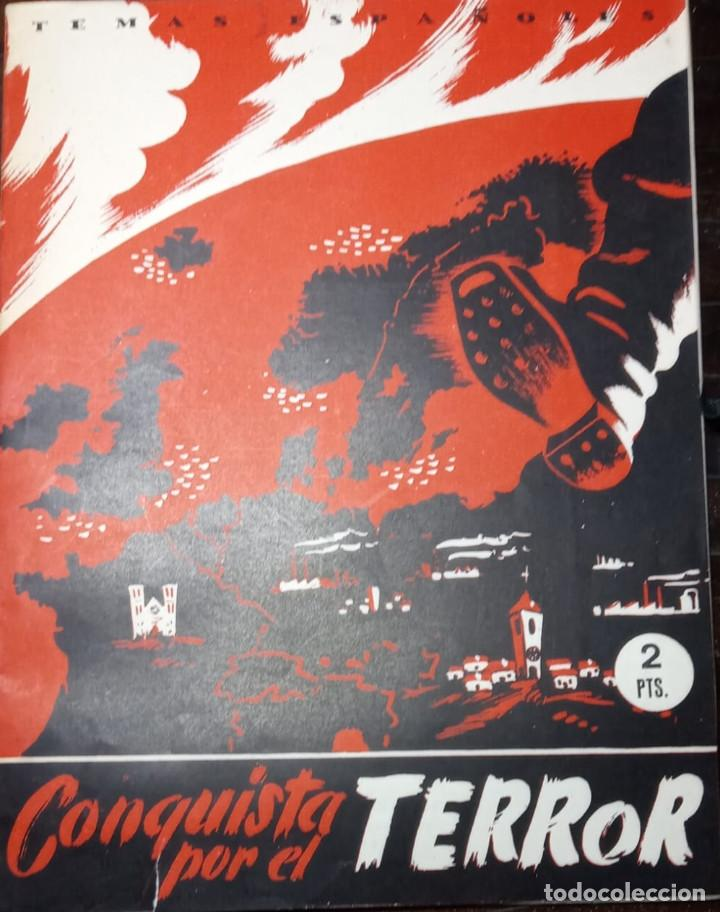 CONQUISTA POR EL TERROR. LELANS STOWE. PUBLICADO EN 1952. (Papel - Revistas y Periódicos Modernos (a partir de 1.940) - Revista Temas Españoles)