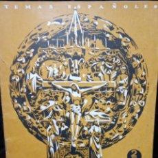 Coleccionismo de Revista Temas Españoles: ESPAÑA EN LOS ALTARES. MIGUEL RODRIGUEZ PANTOJA. AÑO DE PUBLICACIÓN: 1952. Nº 8. Lote 227189665
