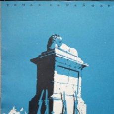 Coleccionismo de Revista Temas Españoles: LA GESTA DEL ALTO DE LOS LEONES. VALENTÍN FERANDEZ CUEVAS. PUBLICADO: 1952. Nº 9. Lote 227189905