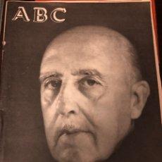 """Coleccionismo de Revista Temas Españoles: ABC """"FRANCO HA MUERTO"""". Lote 227630670"""