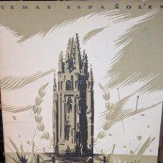 Coleccionismo de Revista Temas Españoles: OVIEDO, CIDAD LAUREADA. ALVAR FÁNEZ.PUBLICADO EN 1953. Nº 23. Lote 227812085