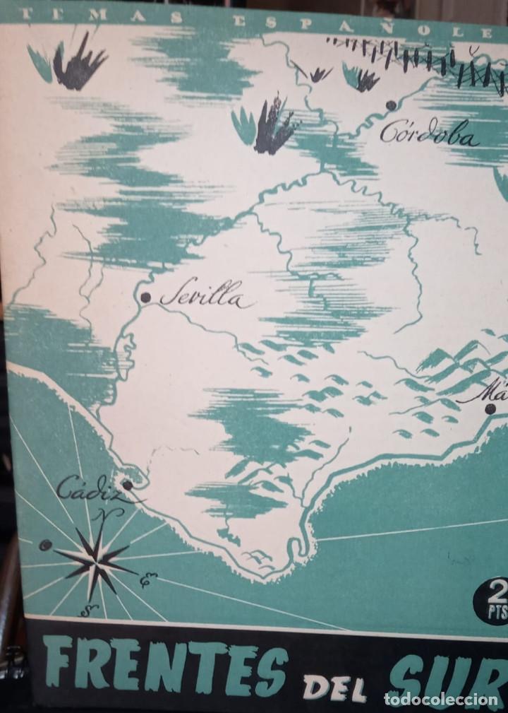 FRENTES DEL SUR. FRANCISCO NARBONA. PUBLICADO EN 1953. Nº 24 (Papel - Revistas y Periódicos Modernos (a partir de 1.940) - Revista Temas Españoles)