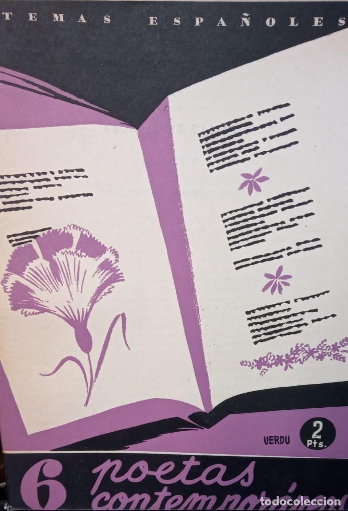 6 POETAS CONTEMPORANEOS. VICENTE G. MONTERO. PUBLICADO EN 1953. Nº 31 (Papel - Revistas y Periódicos Modernos (a partir de 1.940) - Revista Temas Españoles)