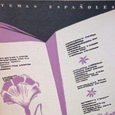 Coleccionismo de Revista Temas Españoles: 6 POETAS CONTEMPORANEOS. VICENTE G. MONTERO. PUBLICADO EN 1953. Nº 31. Lote 227829880