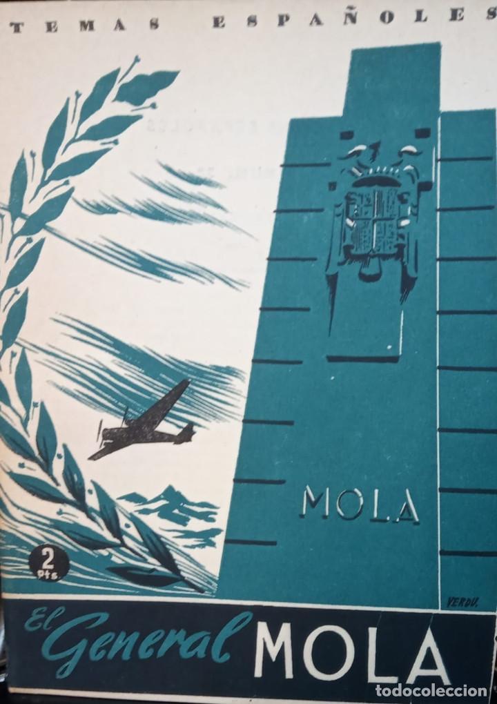 EL GENERAL MOLA. ENRIQUE CORMA. PUBLICADO EN 1953. Nº 32 (Papel - Revistas y Periódicos Modernos (a partir de 1.940) - Revista Temas Españoles)