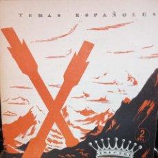Coleccionismo de Revista Temas Españoles: VICTOR PRADERA. CALOS GUINEA SUAREZ. PUBLICADO EN 1953. Nº 37. Lote 227832651