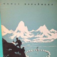 Coleccionismo de Revista Temas Españoles: CIUDADES DE LONA. INÉS GARCÍA ESCALERA. PUBLICADOD EN 1953. Nº 40. Lote 227986100