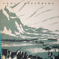 Coleccionismo de Revista Temas Españoles: NUESTRO PAISAJE. LUIS CARLOS GARCÍA DE FIGUEROLA. PUBLICADOD EN 1953. Nº 41. Lote 227987100