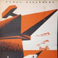 Coleccionismo de Revista Temas Españoles: MEDICINA DEL TRABAJO. ALFREDO ISASI GARCIA. PUBLICADO EN 1953. Nº 61. DEDICADO POR EL AUTOR. Lote 228110220
