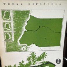 Colecionismo da Revista Temas Españoles: LA GUINEA ESPAÑOLA. ENRIQUE ARROJA GOMEZ. PUBLICADO EN 1954. Nº 76. Lote 228123045