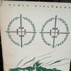 Collectionnisme de Magazine Temas Españoles: EL GENERAL VARELA. INES GARCIA DE LA ESCALERA. PUBLICADO EN 1954. Nº 77. Lote 228123230