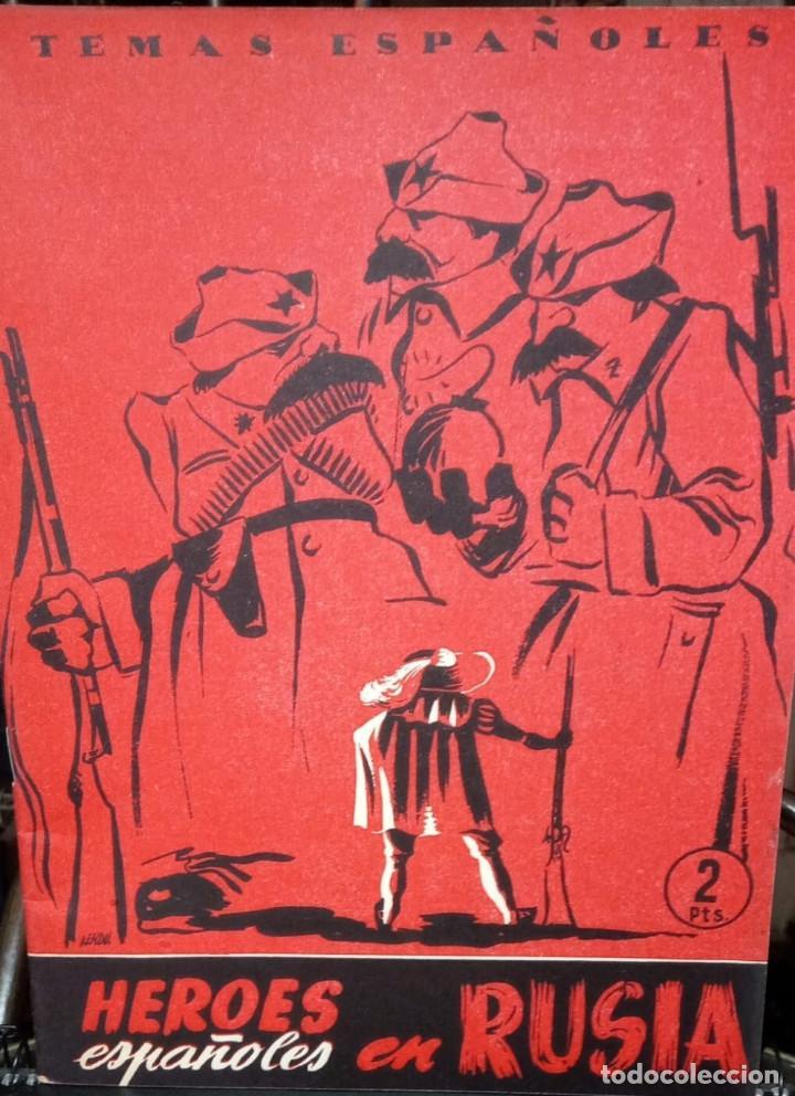 HÉROES ESPAÑOLES EN RUSIA. ADOLFO PREGO. PUBLICADO EN 1954. Nº 85 (Papel - Revistas y Periódicos Modernos (a partir de 1.940) - Revista Temas Españoles)
