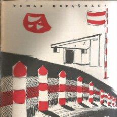 Collectionnisme de Magazine Temas Españoles: ALBERGUES Y PARADORES. LUIS FERNANDEZ FUSTER. PUBLICADO EN 1957. Nº 307. Lote 229280640