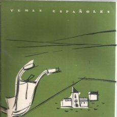 Collectionnisme de Magazine Temas Españoles: INSTITUTO NACIONAL DE COLONIZACIÓN. OCTAVIO DIAZ PINES Y FERNÁNDEZ PACHECO. PUBLICADO EN 1957. Nº320. Lote 229281190