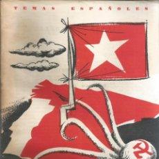 Collectionnisme de Magazine Temas Españoles: LA TIERRA QUEMADA. DOMINGO MANFREDI CANO. PUBLICADO EN 1959. Nº402. Lote 229281335