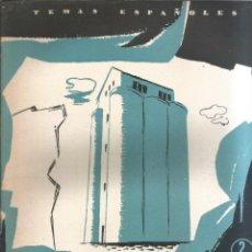 Collectionnisme de Magazine Temas Españoles: RED NACIONAL DE SILOS. OSCAR NÚÑEZ MAYO. PUBLICADO EN 1957. Nº292. Lote 229281565