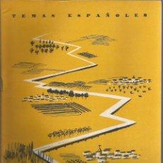 Collectionnisme de Magazine Temas Españoles: PLAN ZARAGOZA. FRANCISCO GÓMEZ DE TRAVECEDO. PUBLICADO EN 1958. Nº370. Lote 229281575