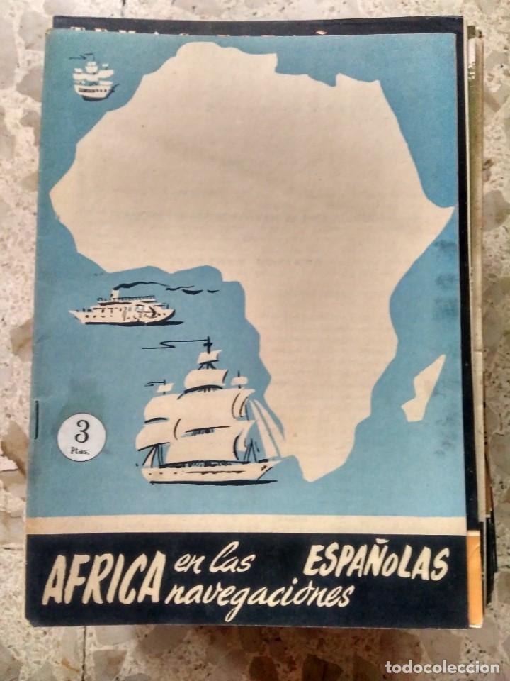 TEMAS ESPAÑOLES - Nº 383 - ÁFRICA EN LAS NAVEGACIONES ESPAÑOLAS - DOMINGO MANFREDI (Papel - Revistas y Periódicos Modernos (a partir de 1.940) - Revista Temas Españoles)