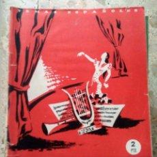 Collectionnisme de Magazine Temas Españoles: TEMAS ESPAÑOLES - Nº 6 - FALLA, GRANADOS Y ALBÉNIZ - JULIA MARTÍNEZ. Lote 229304085
