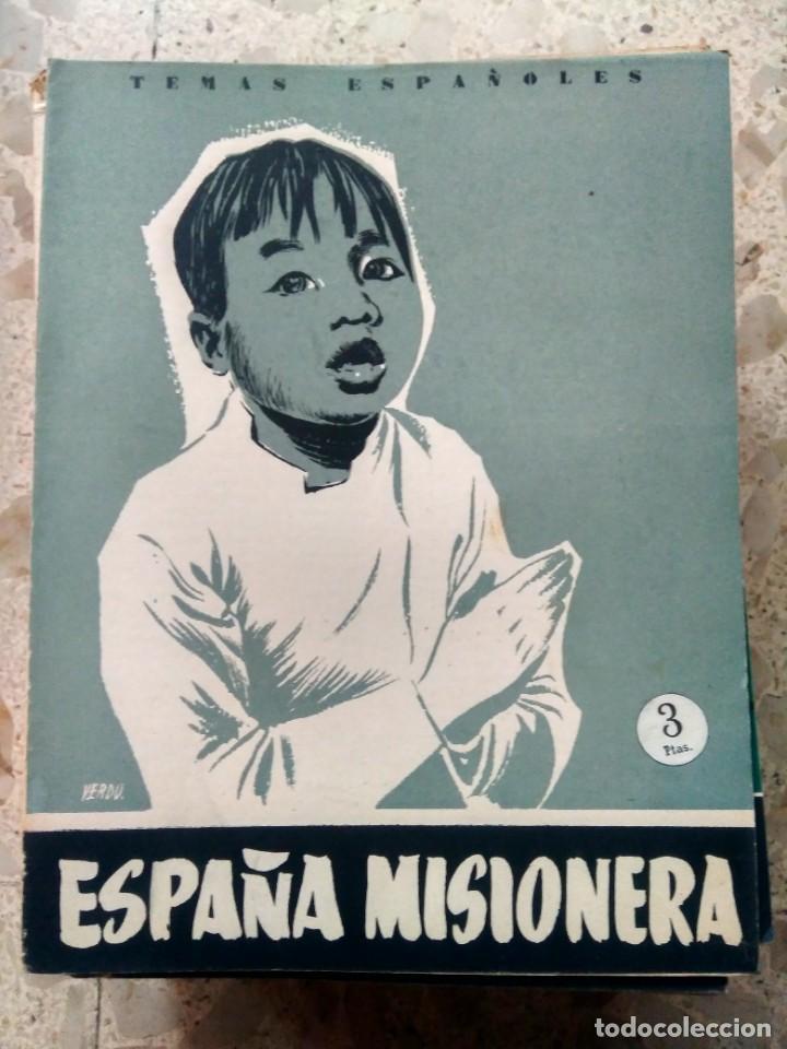 TEMAS ESPAÑOLES - Nº 264 - ESPAÑA MISIONERA - CARLOS EGUÍA (Papel - Revistas y Periódicos Modernos (a partir de 1.940) - Revista Temas Españoles)