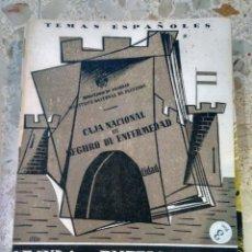 Collectionnisme de Magazine Temas Españoles: TEMAS ESPAÑOLES - Nº 106 - EL SEGURO DE ENFERMEDAD - ALFREDO ISASI GARCÍA. Lote 229660880