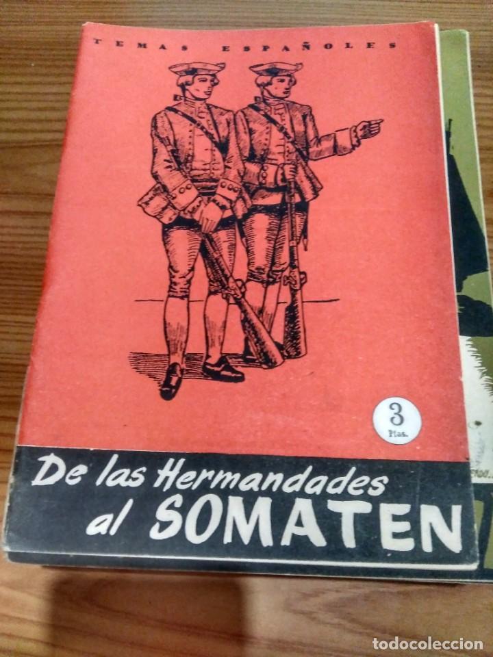 TEMAS ESPAÑOLES - Nº 326 - DE LAS HERMANDADES AL SOMATÉN - FÉLIX CAMPOS CARRANZA (Papel - Revistas y Periódicos Modernos (a partir de 1.940) - Revista Temas Españoles)