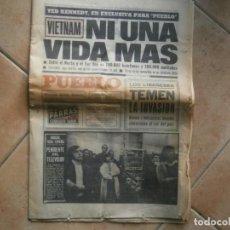 Coleccionismo de Revista Temas Españoles: INTERESANTE PERIODICO AÑOS 20 DE,10,DE 1972,MANOLETE,KENNEDY, HOJAS MUY INTERESANTE,UNICAS EN TC. Lote 230202455