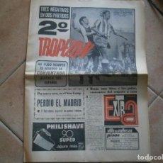 Coleccionismo de Revista Temas Españoles: INTERESANTE PERIODOCO AÑO,25,9,,DE 1972 FUTBOL Y VARIAS HOJAS MUY INTERESANTE,UNICAS EN TC. Lote 230222580