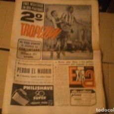 Coleccionismo de Revista Temas Españoles: INTERESANTE PERIODICO AÑO,2 DE,10, 1972,FUTBOL,Y VARIAS HOJAS MUY INTERESANTE,UNICAS EN TC. Lote 230232900