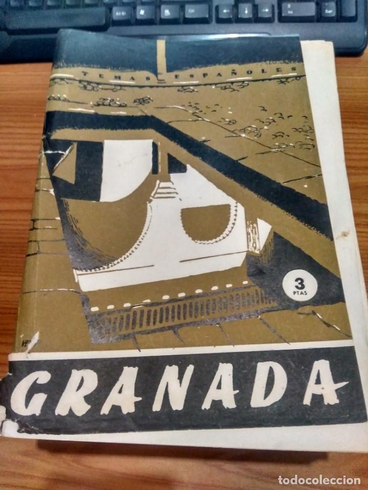 TEMAS ESPAÑOLES - Nº 145 - GRANADA - FRANCISCO PERAMOS (Papel - Revistas y Periódicos Modernos (a partir de 1.940) - Revista Temas Españoles)